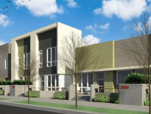 Aria Townhomes Exterior